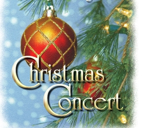 Christmas Concert – Wednesday, December 21, 2016 at 6:00 p.m.